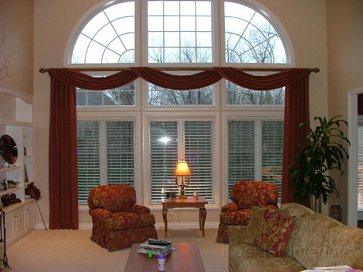Karen Koester Interiors Portfolio Large Window Treatments